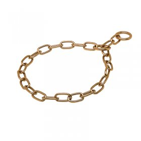 """Positive Influence"" Curogan Medium Sized Link Chain Collar - 3.0 mm"