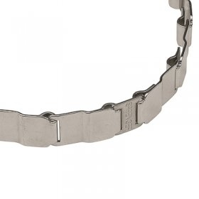 Stainless Steel Neck Tech FUN Dog Collar - 19 inches (48 cm) long