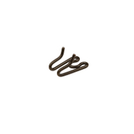Browned Steel Extra Link for Prong Collar - 4.0 mm
