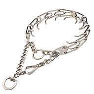 Quick Release Prong Collar with Swivel 25 inch (65 cm)