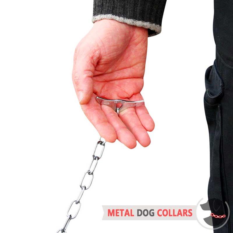 Herm Sprenger Toggle Chain Dog Training Collars