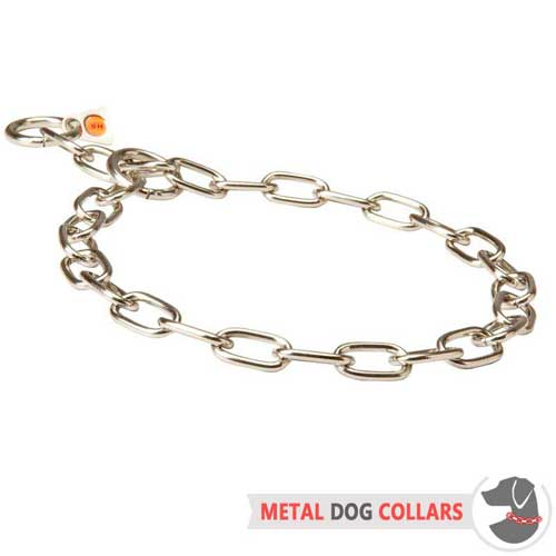 Rust-proof dog collar