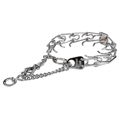 Chrome Plated Prong Collar (4.0 mm x 25 inches)