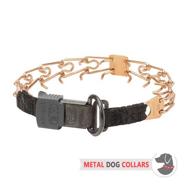 Strong Herm Sprenger Dog Prong Collar of Top Quality