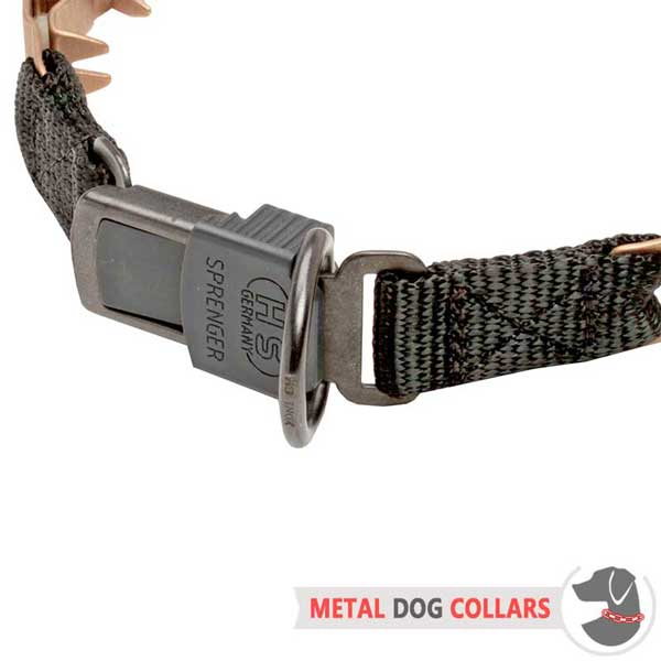 Strong Neck Tech Dog Collar with Secure Buckle