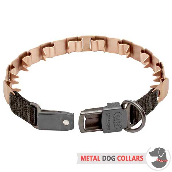 Curogan Neck Tech Dog Collar with Quick-Release Buckle