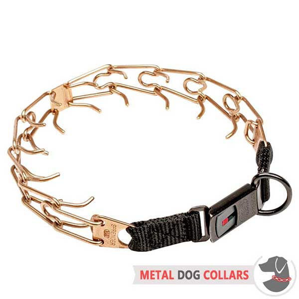 Awesome Dog Pinch Collar of Safe Material