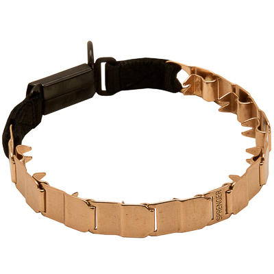 Curogan Neck Tech Sport Prong Collar (20 mm x 19 inches)