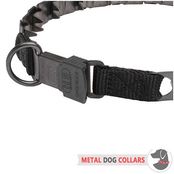 Matt Neck Tech Non-rusting Dog Collar