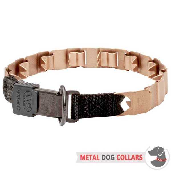 Longevous Neck Tech Dog Collar with Strong Hardware