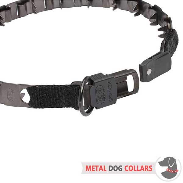 Secure Neck Tech Dog Collar with Unique Buckle