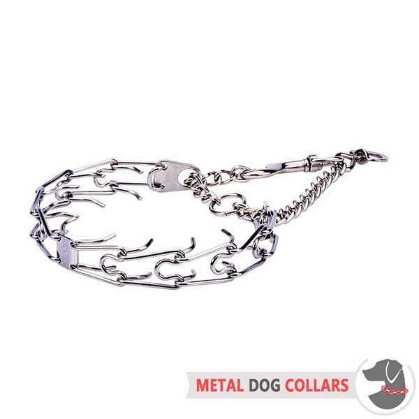 Firm Dog Pinch Collar of Stainless Material