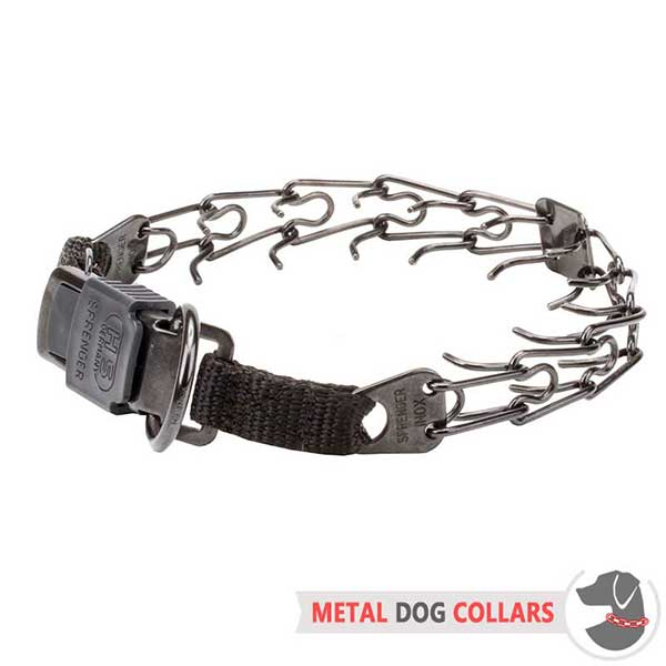 Stainless Steel Dog Prong Collar for Behavior Correction