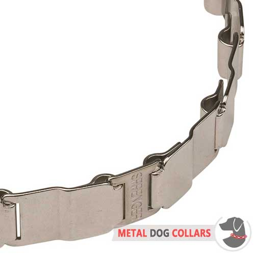 Nech Tech Fun Dog Collar Links Connected to Each Other