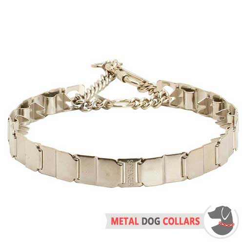 Neck Tech Pinch Dog Collar Made of Stainless Steel