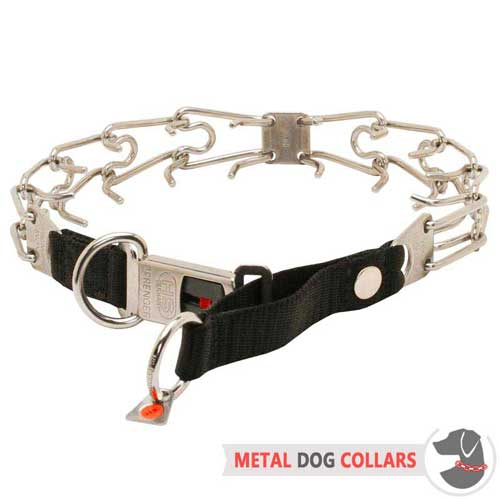 Pinch Dog Collar with Quick Release Buckle