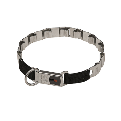 Herm Sprenger Neck Tech Fun collar of Stainless Steel - 19 inches (48 cm)