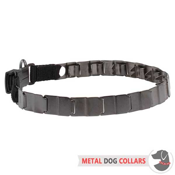 Sport Neck Tech Dog Collar of Stainless Steel