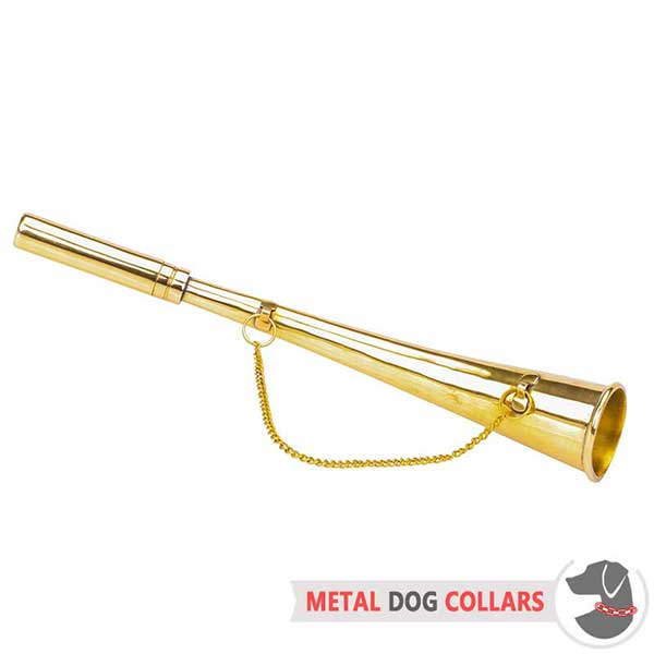 Sounding brass Horn for Dog Training